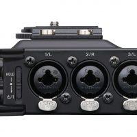 Tascam DR-70D 4-channel audio recorder for HDSLR cameras