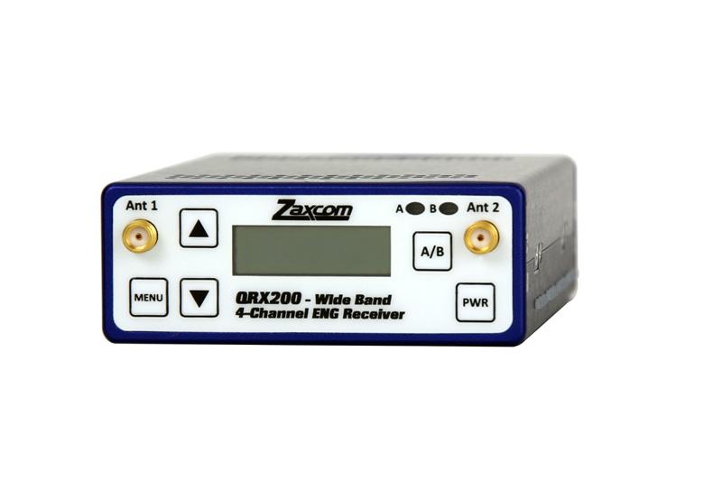 Zaxcom QRX200 200 MHz Wideband Receiver