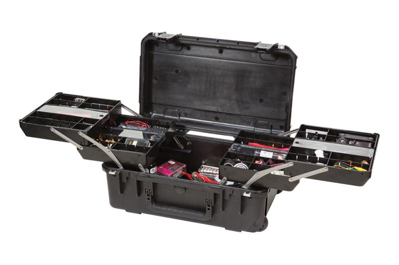 SKB iSeries 3i-2011-7 Waterproof Tech Box (w/dual trays)