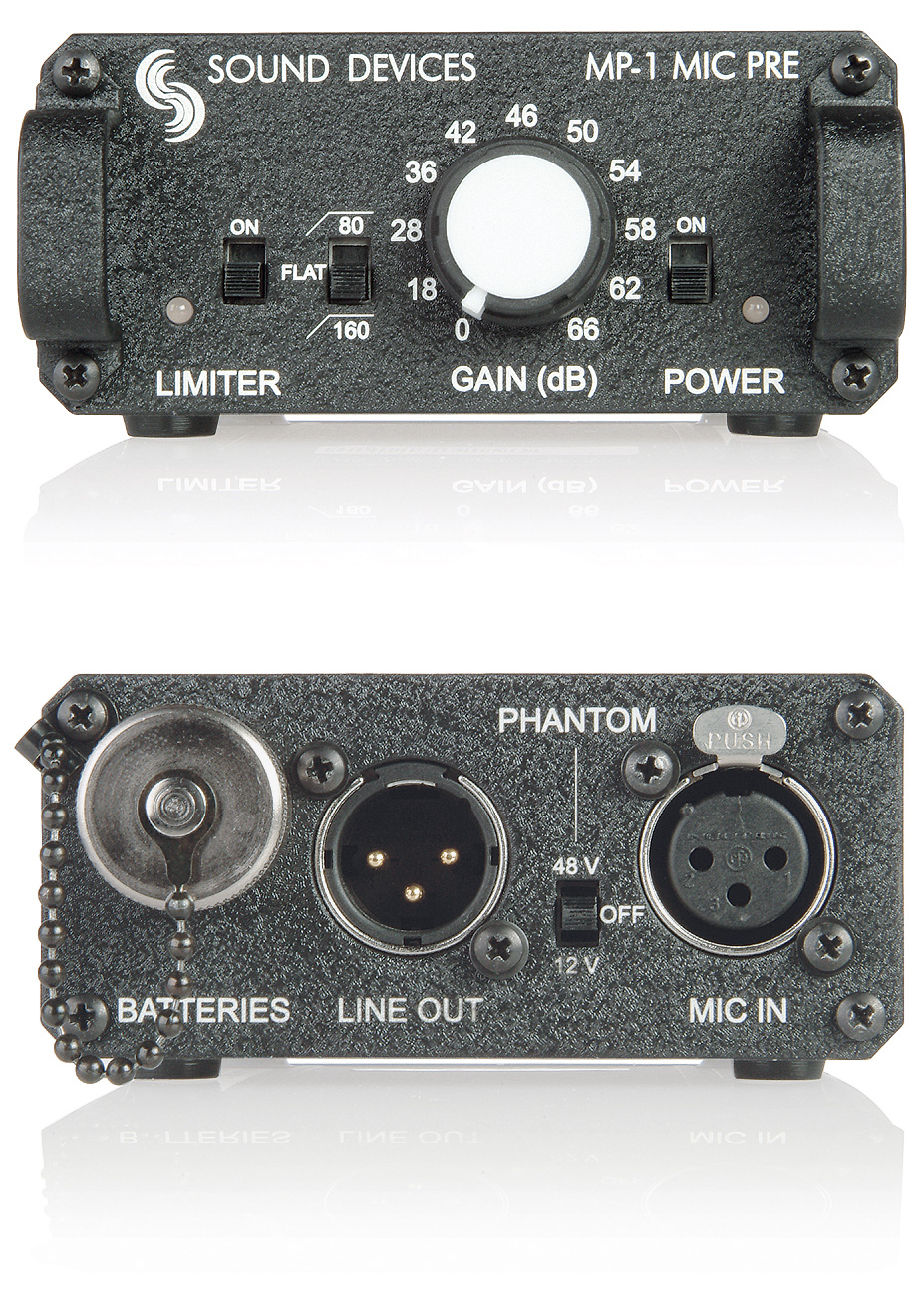 Sound Devices MP-1 Portable Microphone Preamp