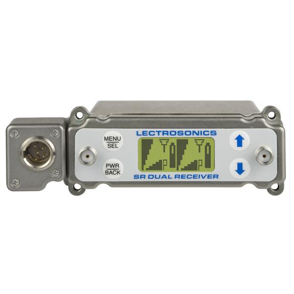 Lectrosonics SRB/5P Dual Channel Slot Mount ENG Receiver