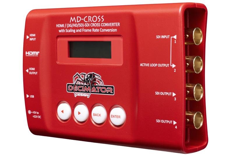 Decimator MD-CROSS HDMI/SDI Cross Converter