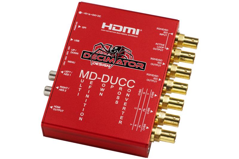 Decimator MD-DUCC Multi Down-Up Cross Convertor