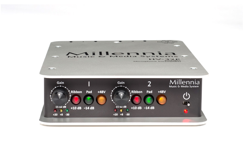 Millennia HV-32P Portable Two Channel Microphone Preamplifier