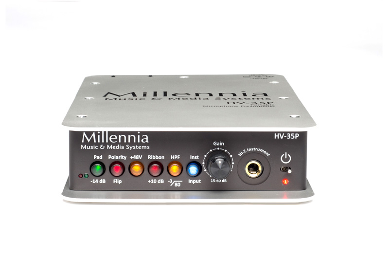 Millennia HV-35P Portable Microphone Preamplifier