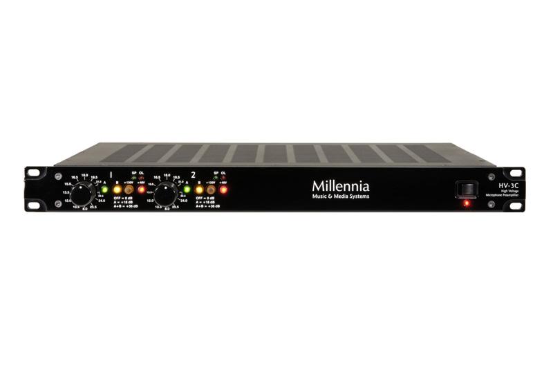 Millennia HV-3C Two Channel Microphone Preamplifier