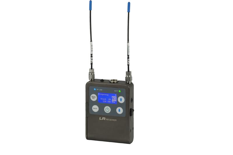 Lectrosonics LR Ultra-Compact Digital Hybrid Wireless Receiver