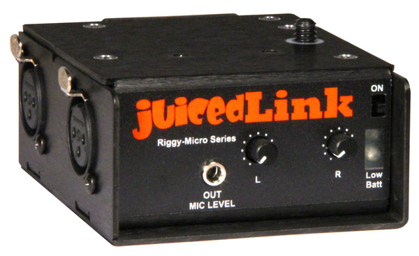 juicedLink RM222 Riggy Micro Low-Noise Preamp