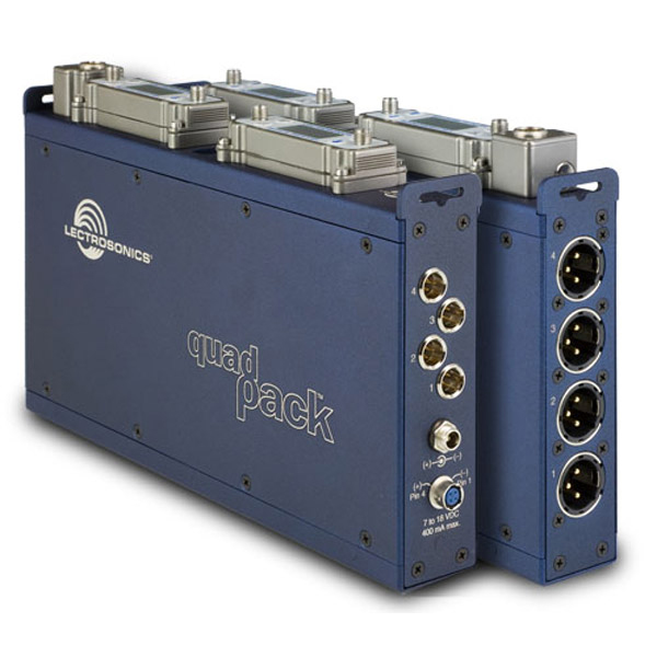 Lectrosonics Quadpack for SR Series Receivers
