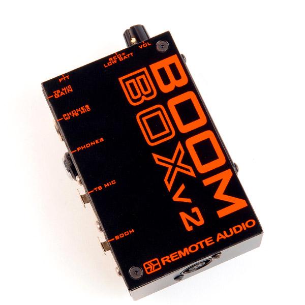 Remote Audio Boom Box v2 (BCSBBV2)