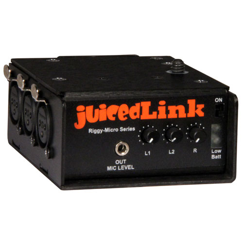 juicedLink RM333 Riggy Micro Low-Noise Preamp
