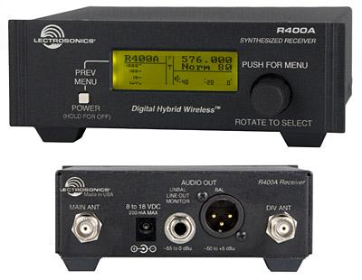 Lectrosonics R400a Digital Hybrid Wireless Diversity Receiver