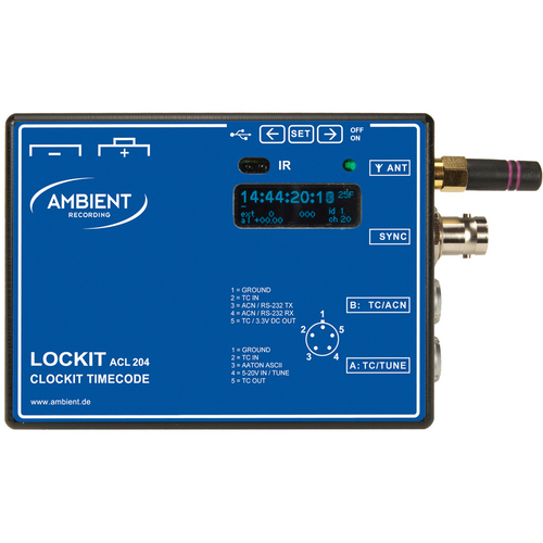 Ambient ACL 204 Time Code and Sync Generator