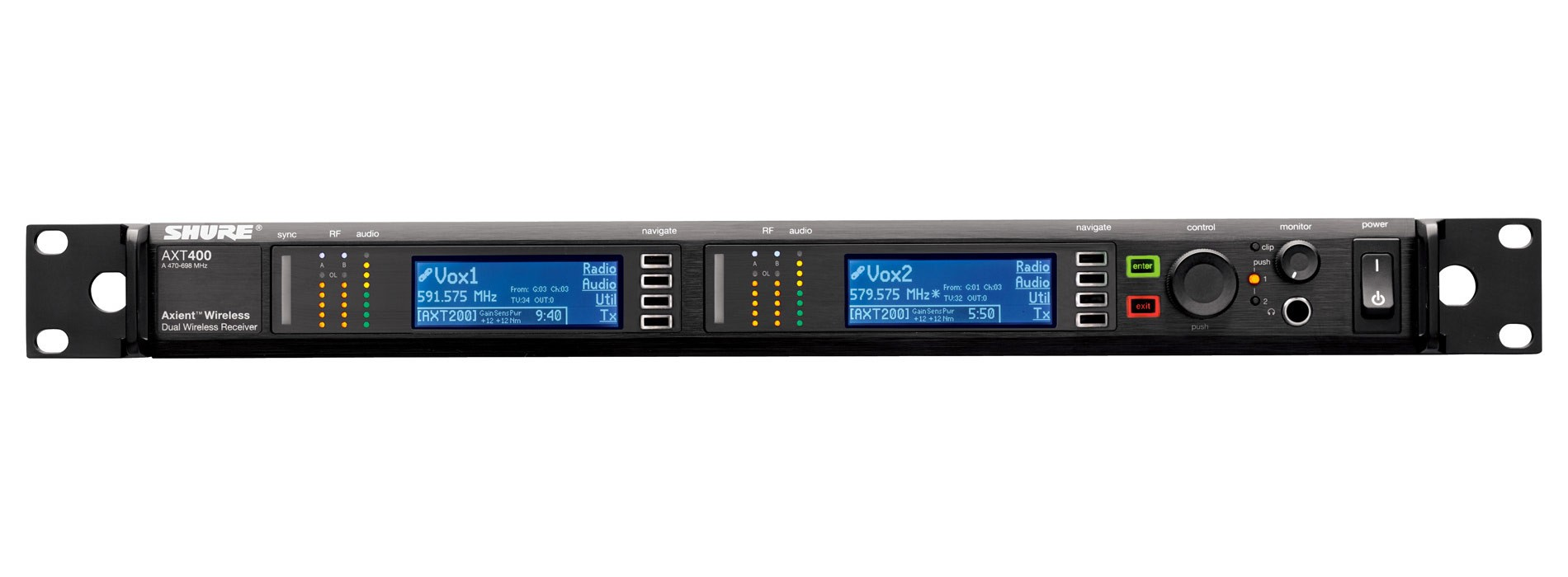 Axient AXT400US Dual Channel Receiver