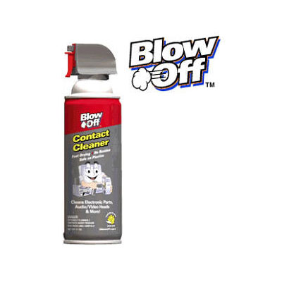 Blowoff Contact Cleaner
