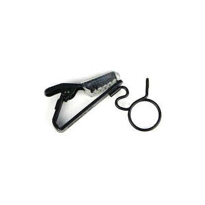 Sony ECM-77 Black Single Tie Clip