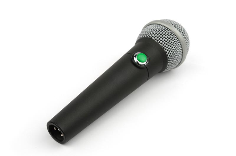 Remote Audio VOG Microphone