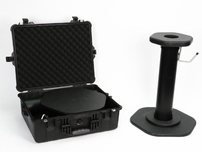 Remote Audio Boom Caddy