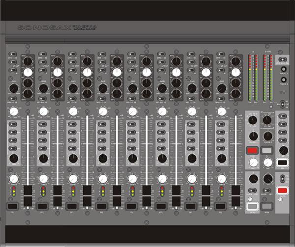 Sonosax SX-ES84 8-Channel Mixer