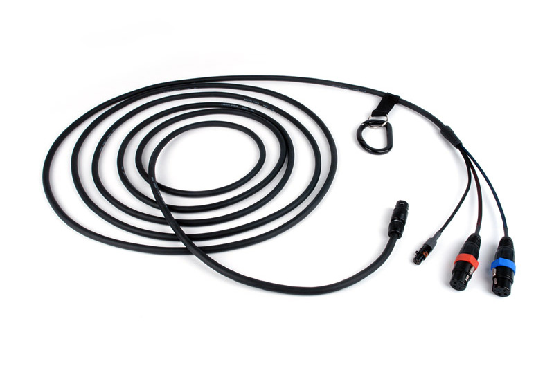 heavy cable to xlr mic
