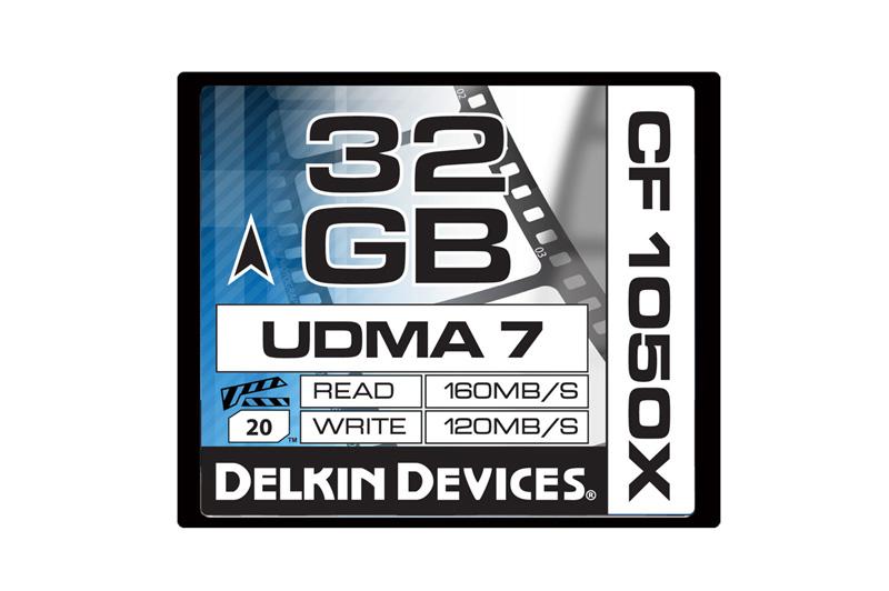 Delkin Devices DDCF1050- 32GB CF 1050X